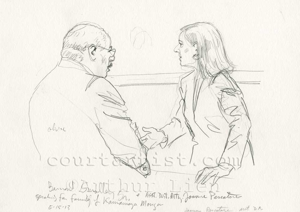 Sketch from Kermit Gosnell sentencing