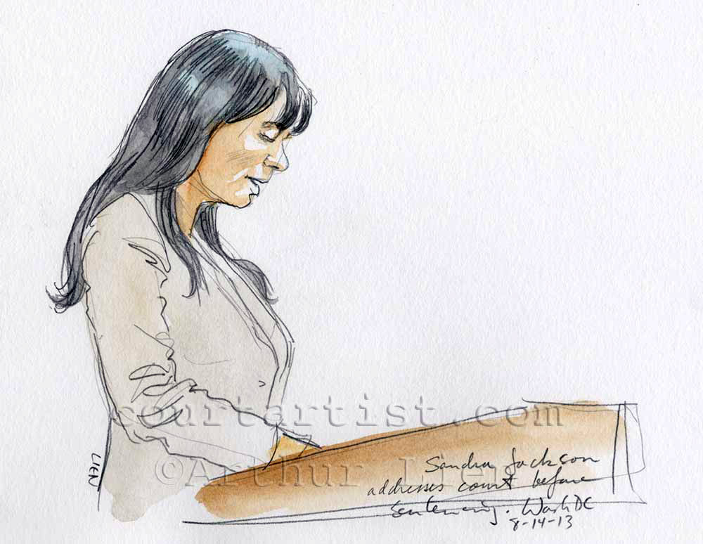 Sketch: Sandra Jackson