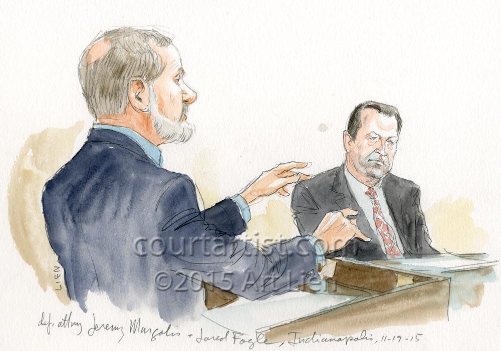 Jared Fogle Plea & Sentencinga