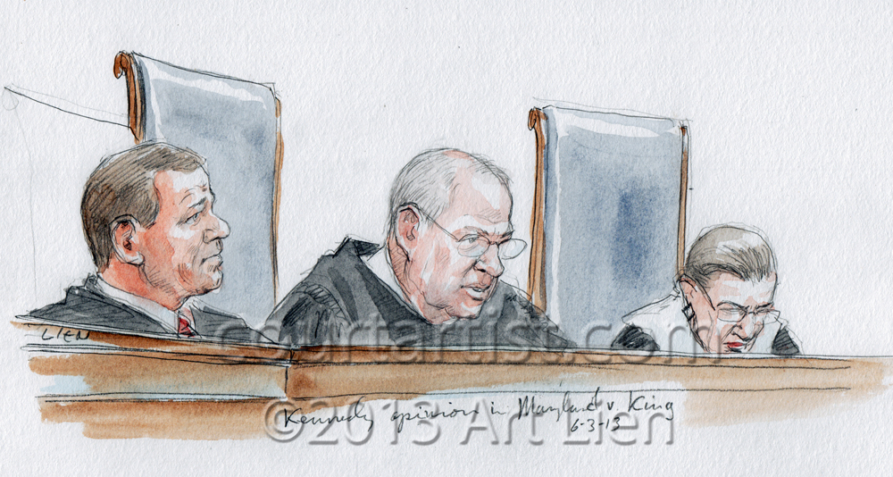 Justice Kennedy Maryland v. King
