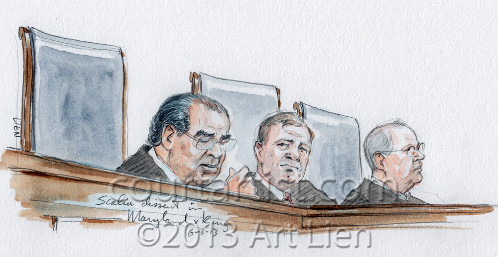Justice Scalia: Maryland v. King