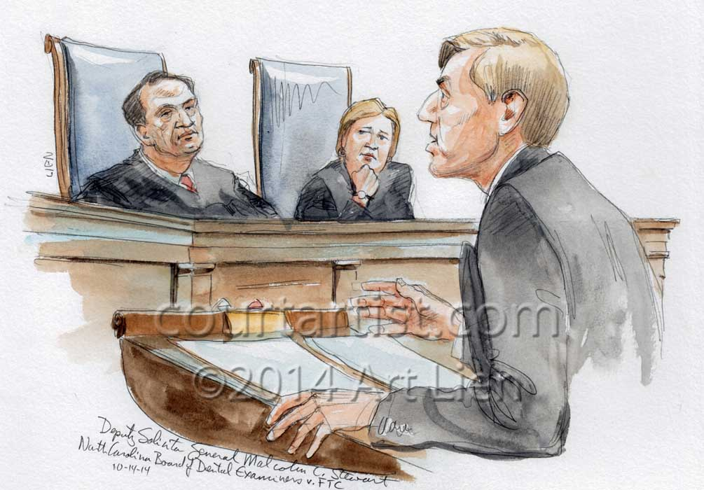NC Board of Dental Examiners v. FTC, No. 13-534