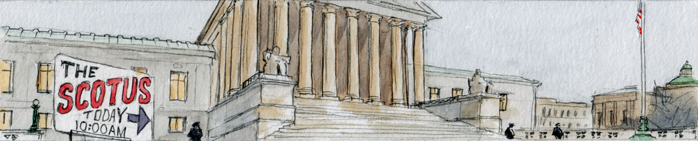 SCOTUS Banner Sketch