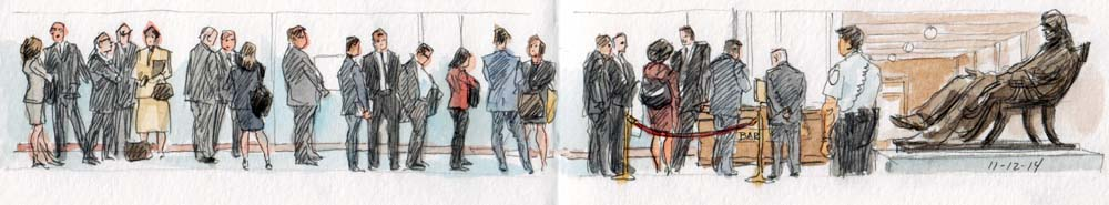 SCOTUS Sketch: Members of the Bar