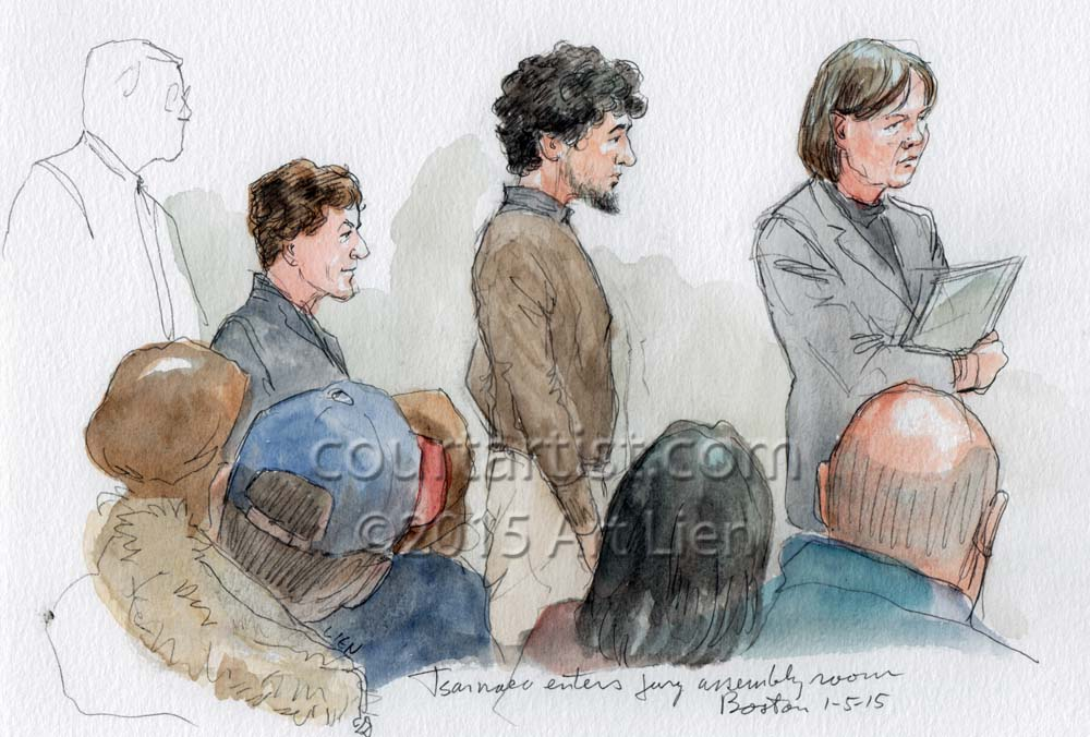 Tsarnaev Jury Selection, Day 1