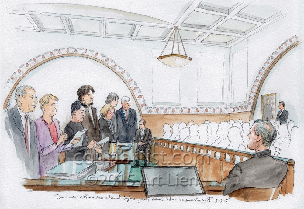 Tsarnaev Jury Selection Complete
