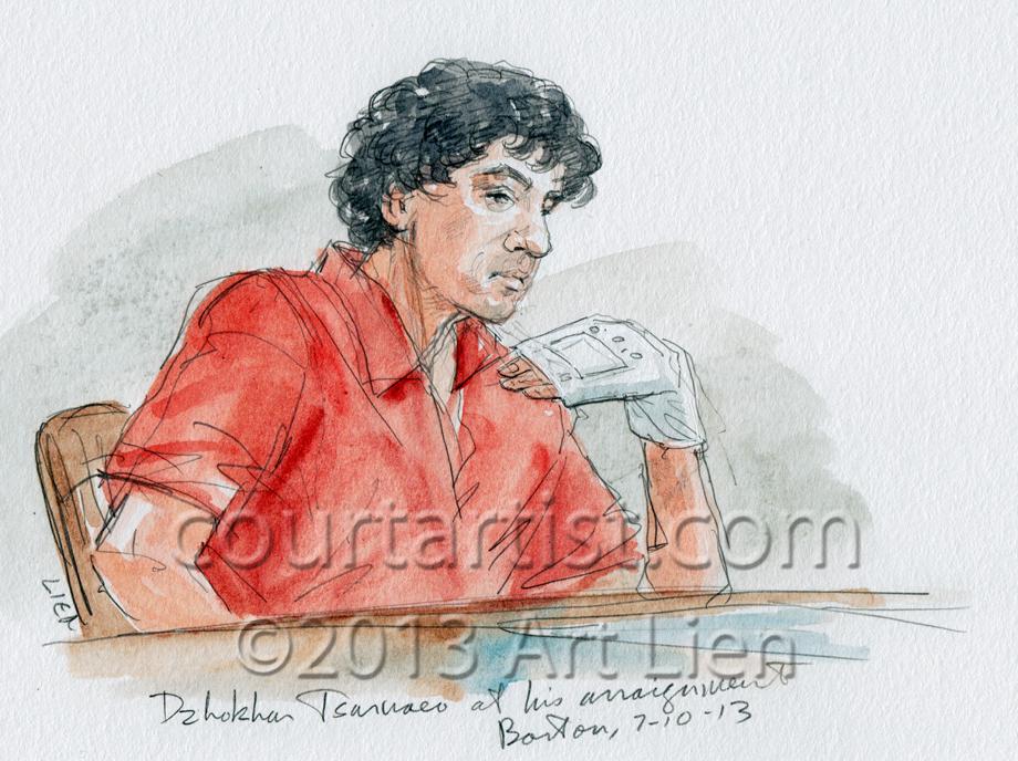Tsarnaev sketch