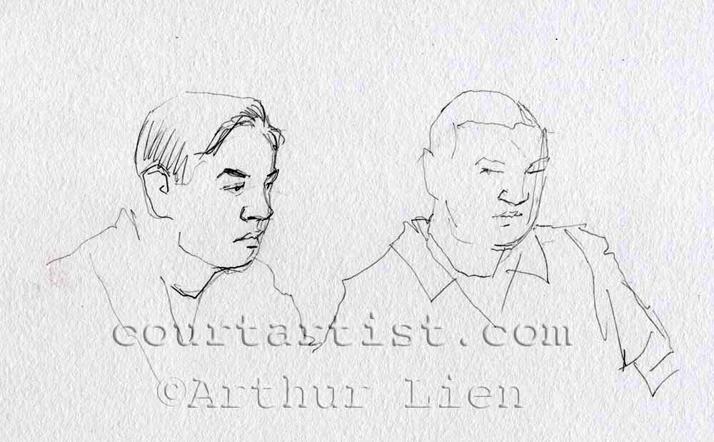Sketch: Dias Kadyrbayev and Azamat Tazhayakov