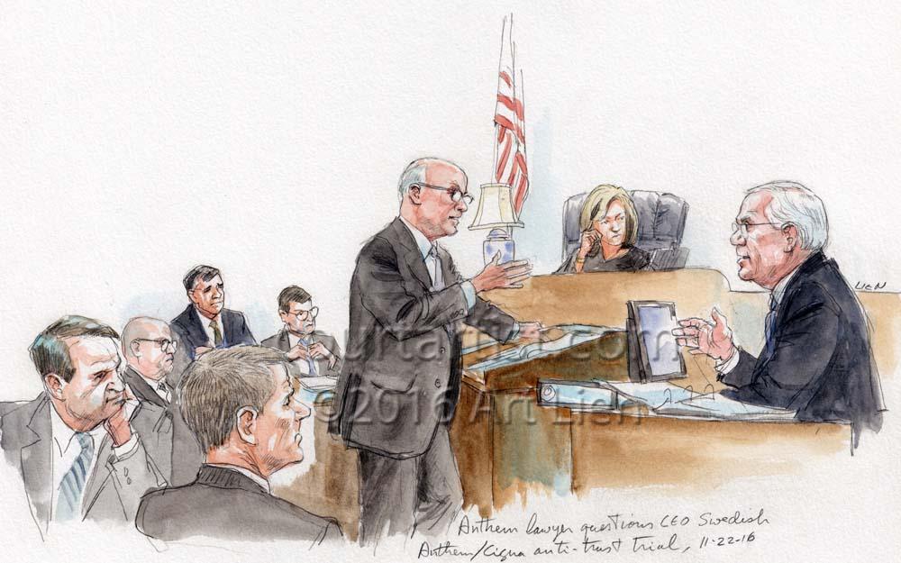 Anthem/Cigna Anti-Trust Trial