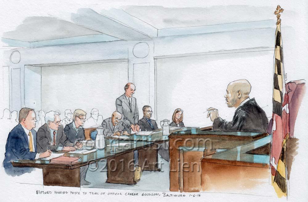 Freddie Gray Trials