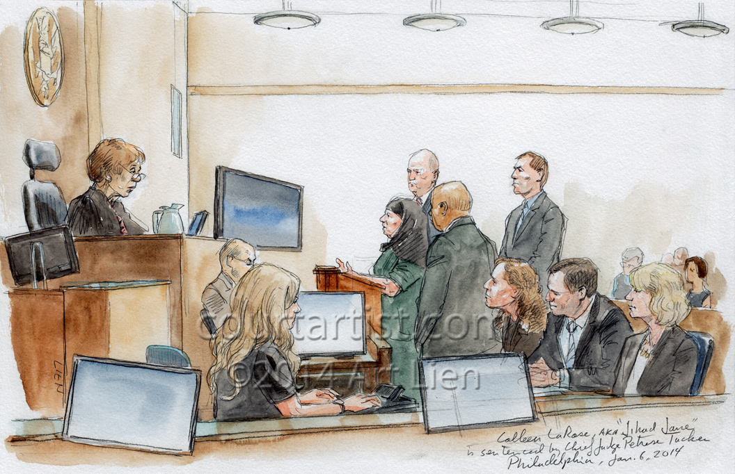 Jihad Jane sentencing