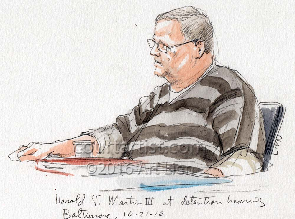 Martin Detention Hearing