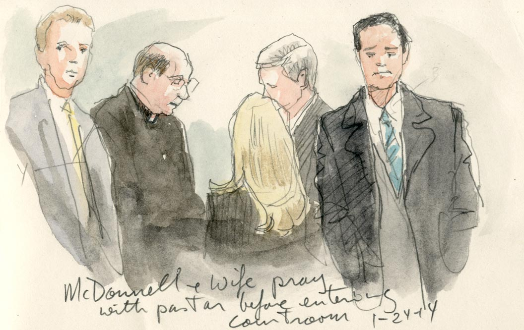 Gov. McDonnell Arraigned