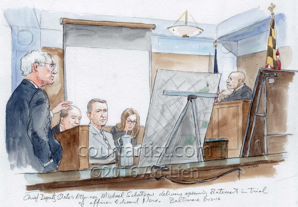 Baltimore Ofc. Nero Trial
