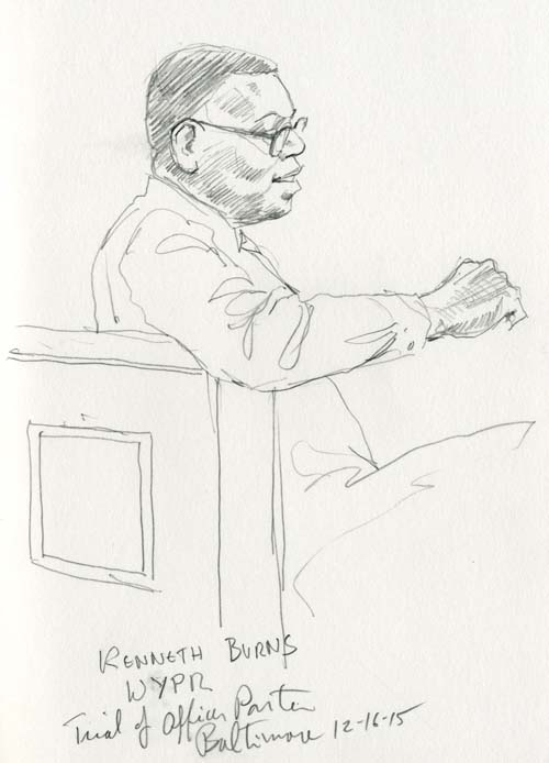 Kenneth Burns, WYPR Reporter