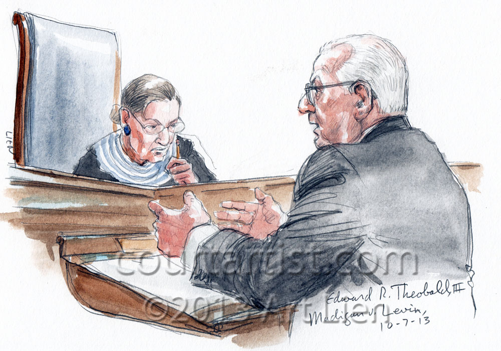 SCOTUS Sketch: Madigan v Levin, No. 12-872