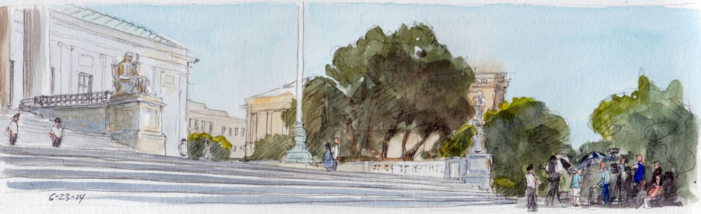 SCOTUS Sketch, Monday Morning