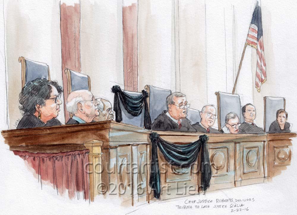 Scalia Tribute