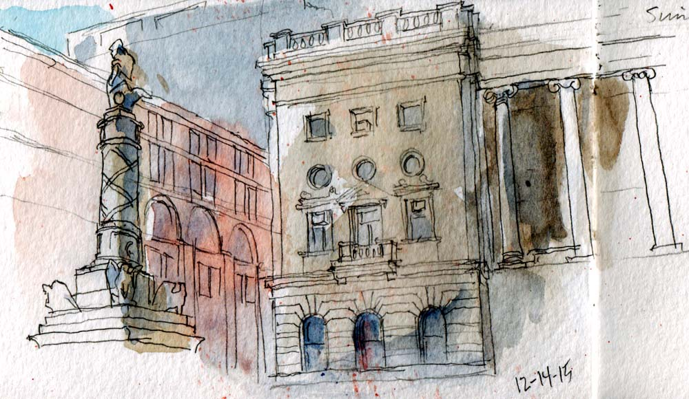 Baltimore Sketch