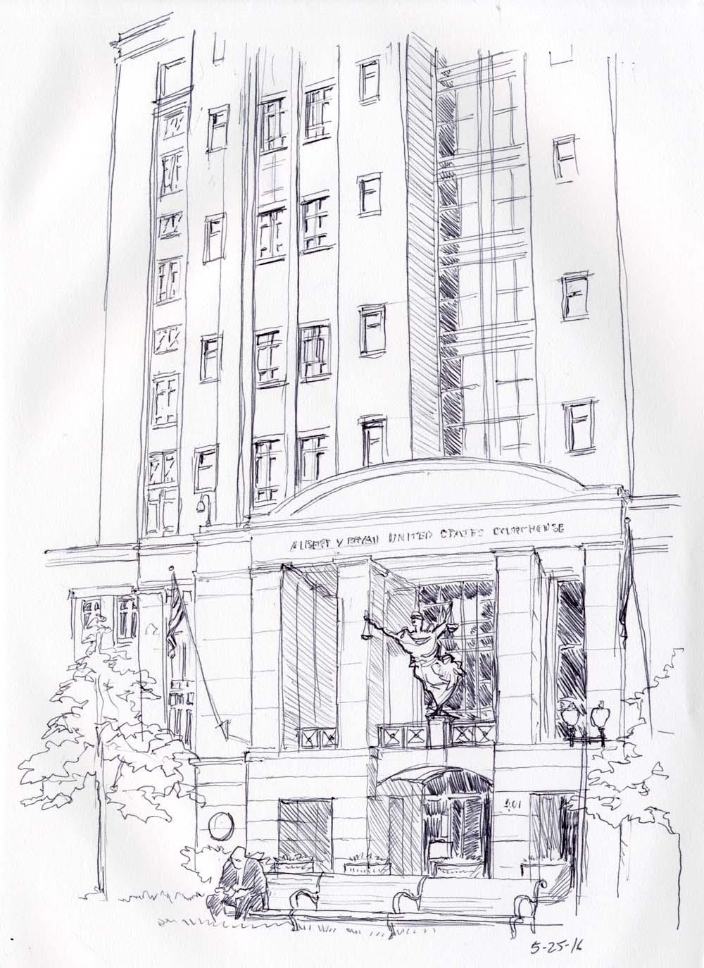 Courthouse, Alexandria