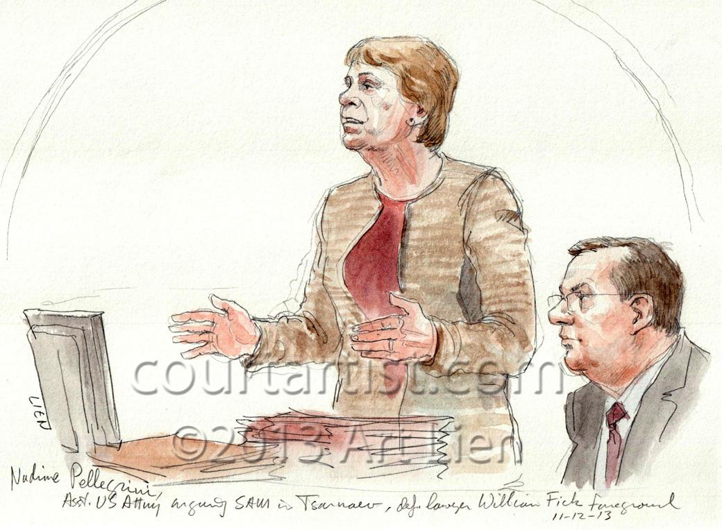 Tsarnaev SAM hearing