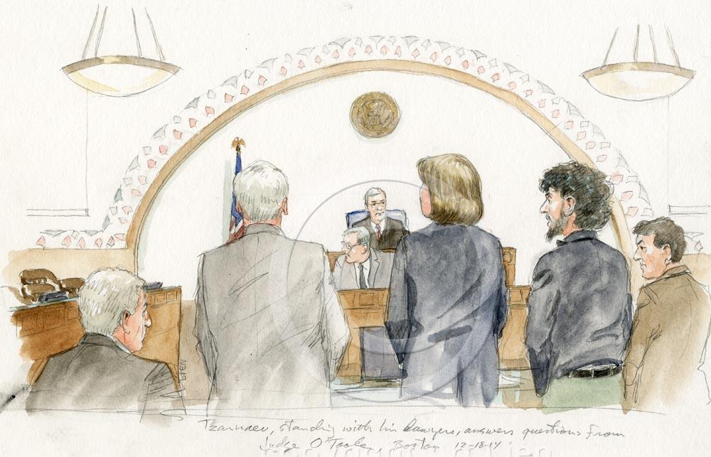 Tsarnaev Pre-Trial