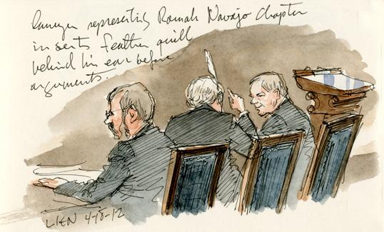SCOTUS sketch, 4/18/12